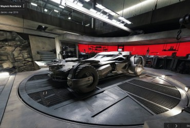 Street View da Mansão Wayne e da a Bat-Caverna BatmanvsSuperman