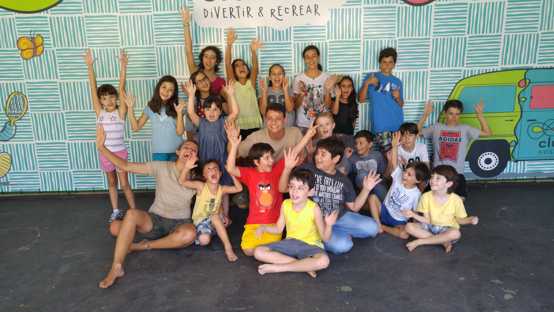 Chega de buffet infantil pasteurizado Divertir & Recrear 01