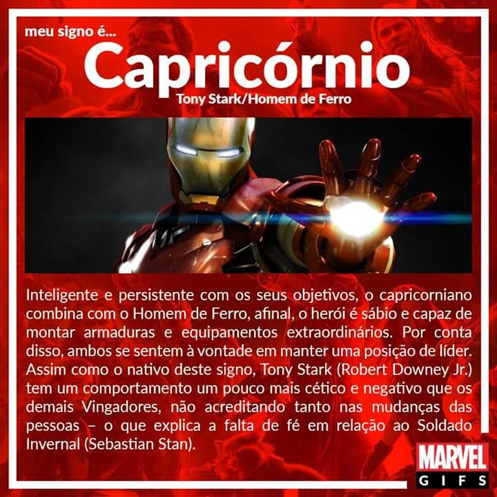 10 Capricornio Homem de Ferro