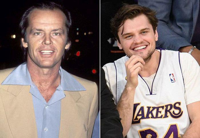 Jack Nicholson pai e filho