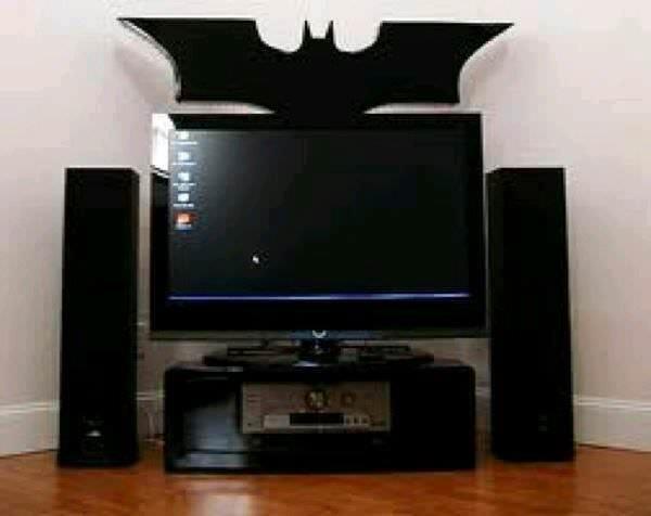 22 ideias para decorar sua casa com o tema do Batman 04