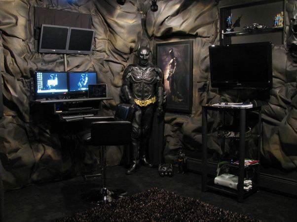 22 ideias para decorar sua casa com o tema do Batman 10