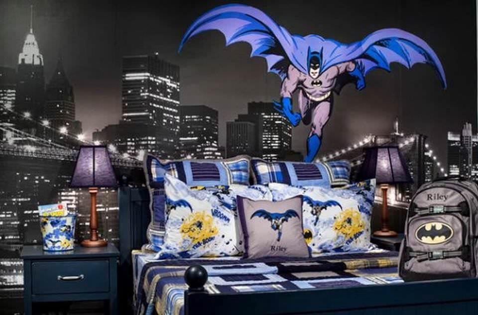 22 ideias para decorar sua casa com o tema do Batman 13