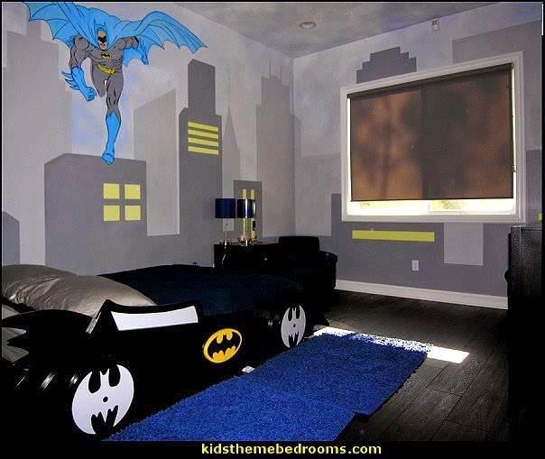 22 ideias para decorar sua casa com o tema do Batman 16