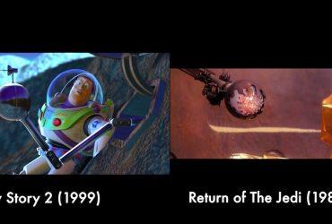Animações da Pixar e suas referências fantásticas