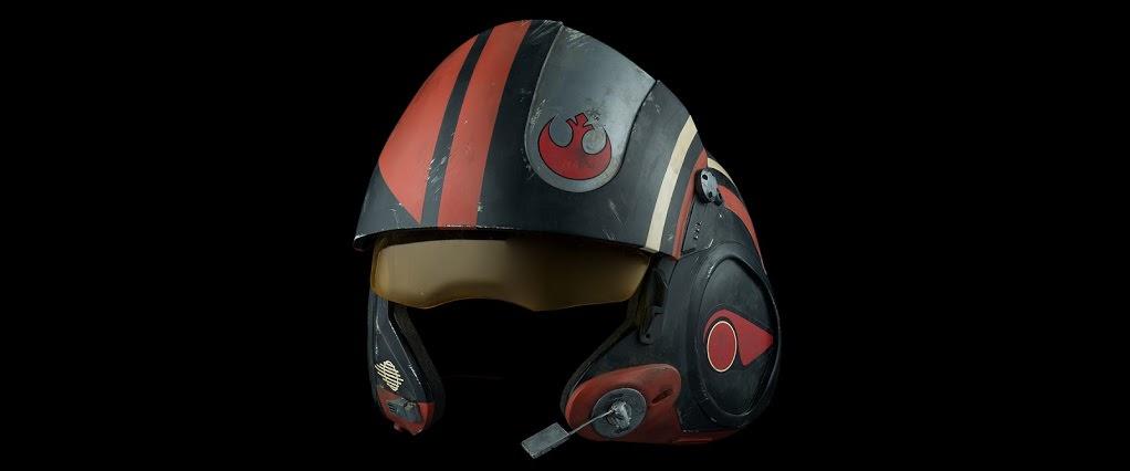Poe Dameron X-Wing Helmet 02
