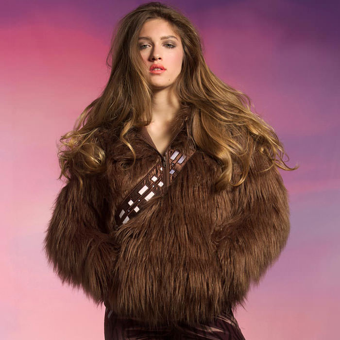 Seja o Chewbacca ou Doctor Who nesse frio