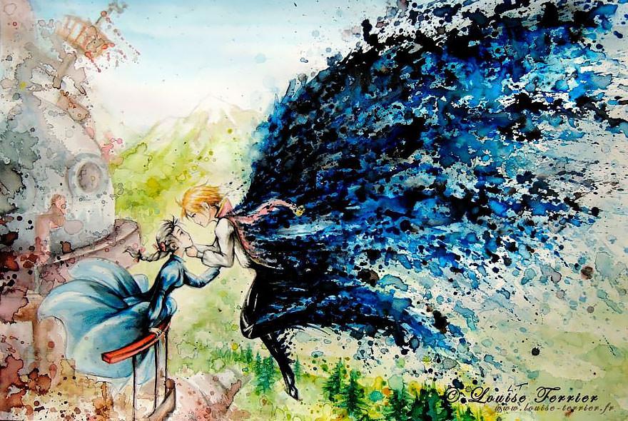 hayao-miyazaki-studio-ghibli-paintings-fan-art-louise-terrier Nerd pai 03