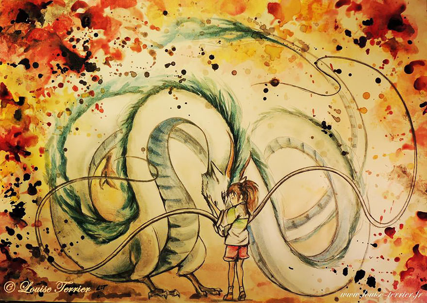 hayao-miyazaki-studio-ghibli-paintings-fan-art-louise-terrier Nerd pai 10