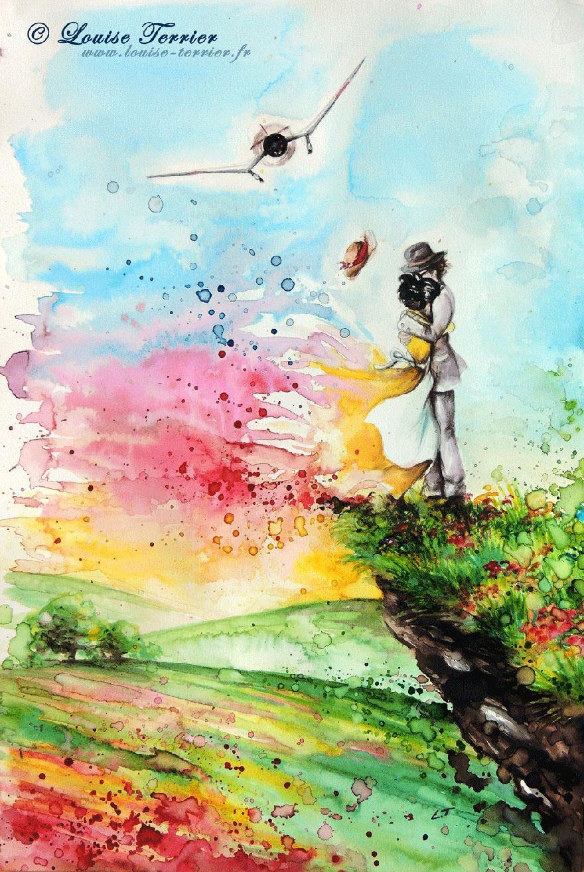 hayao-miyazaki-studio-ghibli-paintings-fan-art-louise-terrier Nerd pai 12