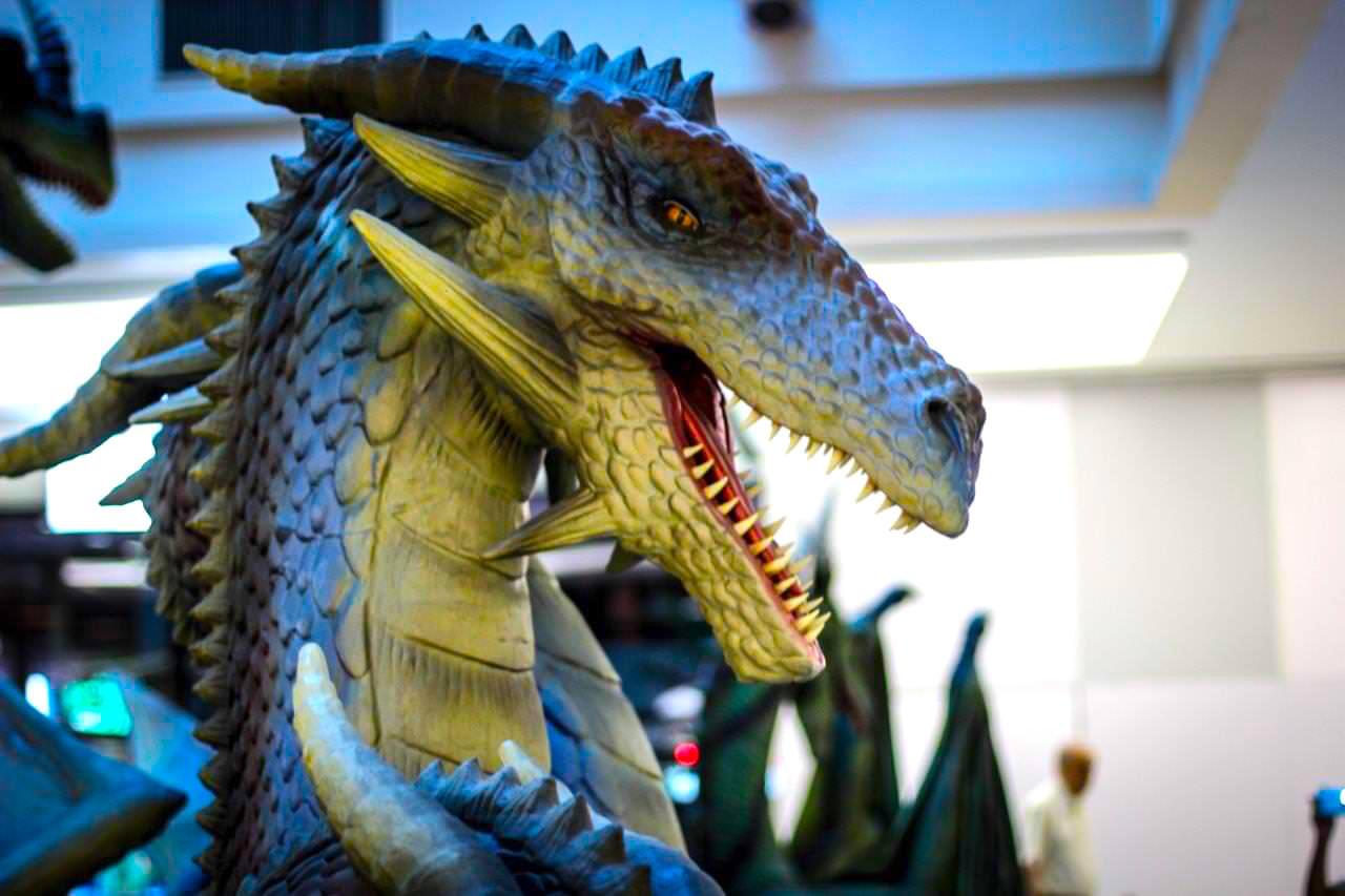 Exposição Internacional de Dragões e Oficina Viking a