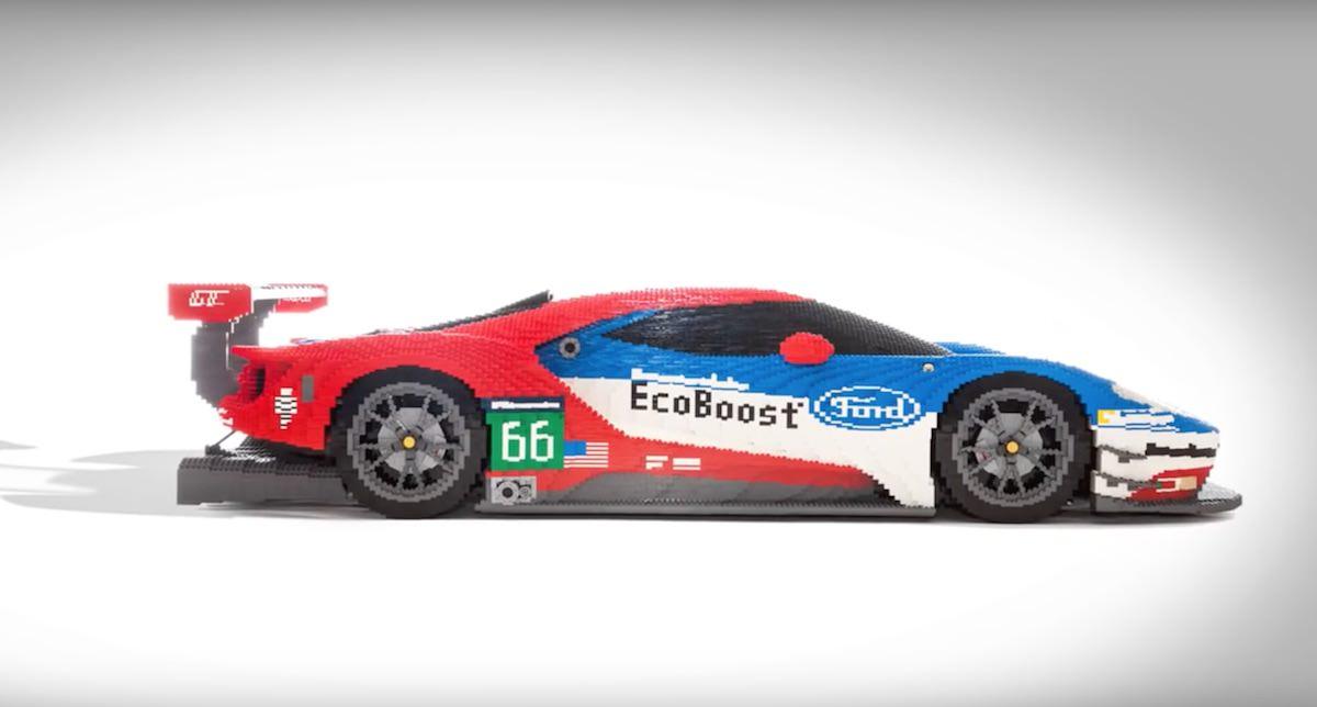 Ford GT - Réplica Perfeita feita com LEGO - Le Mans 2016