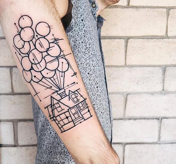 Inspire-se: tatuagens Pixar 08