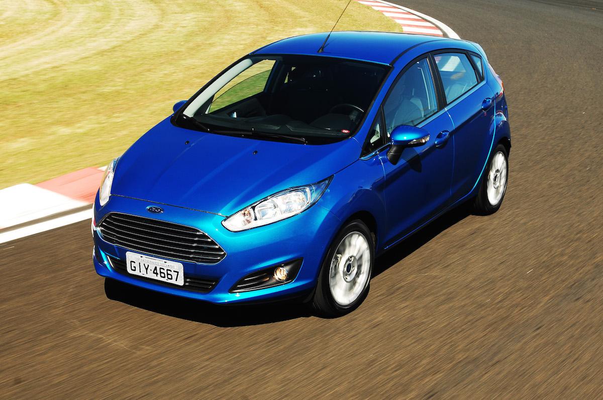 Novo Fiesta Azul Ford - Motor EcoBoost 01