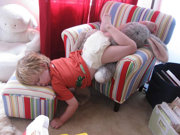 15 fotos provando que os Padawans dormem em qualquer lugar 3