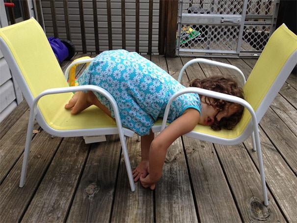 15 fotos provando que os Padawans dormem em qualquer lugar 7