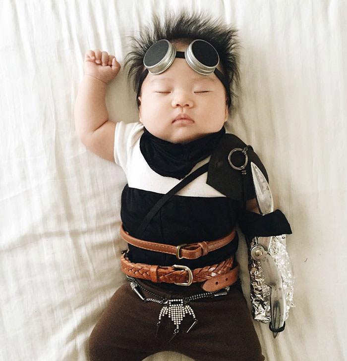 A melhor hora do dia é quando o seu Padawan dorme 12