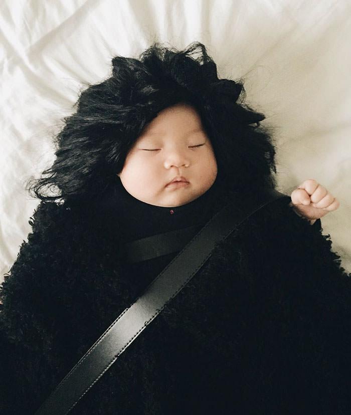 A melhor hora do dia é quando o seu Padawan dorme 4