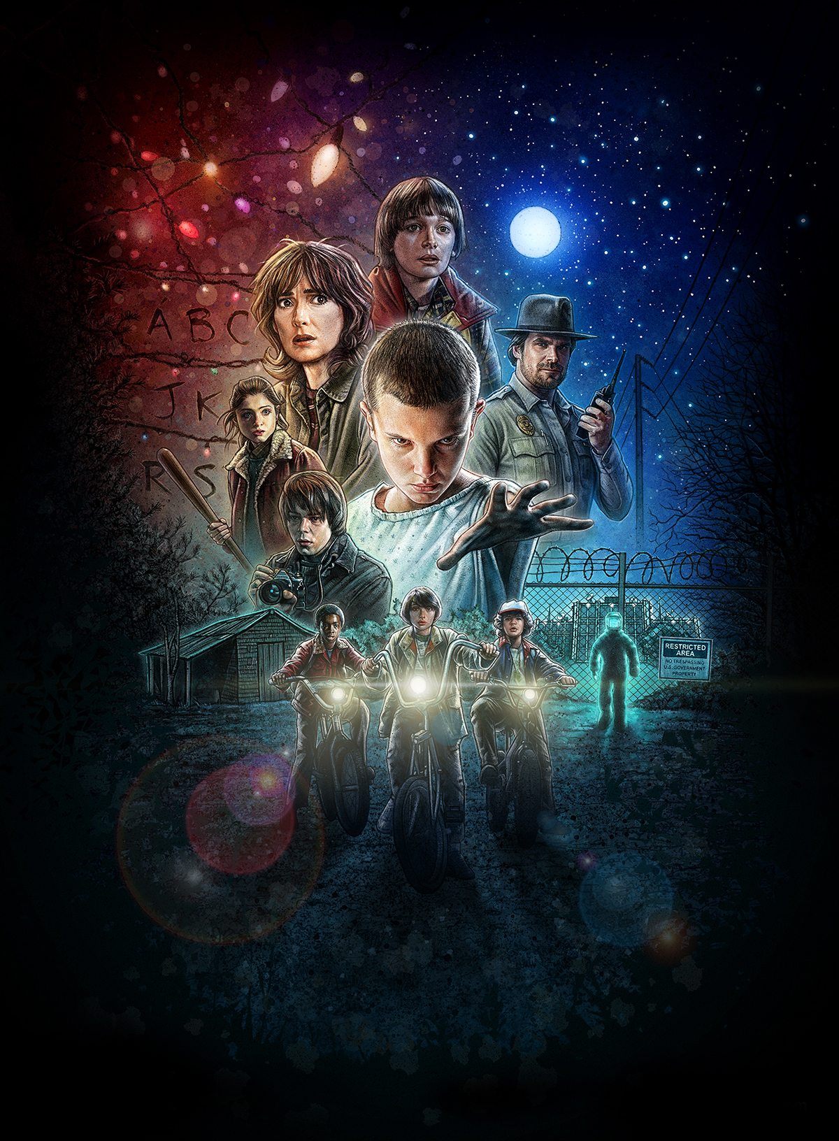 papel de parede iphone android Stranger Things