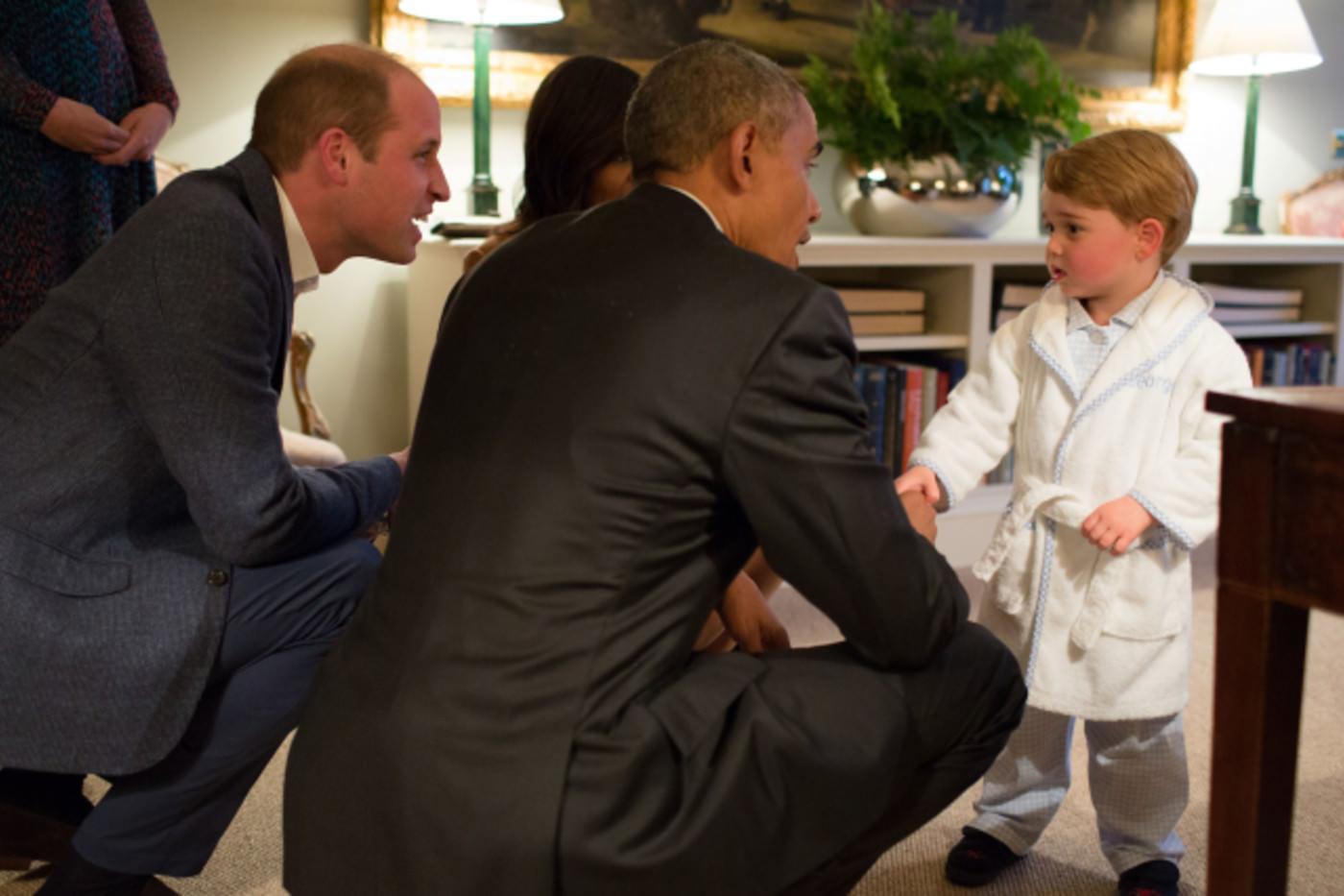 príncipe William-george Obama
