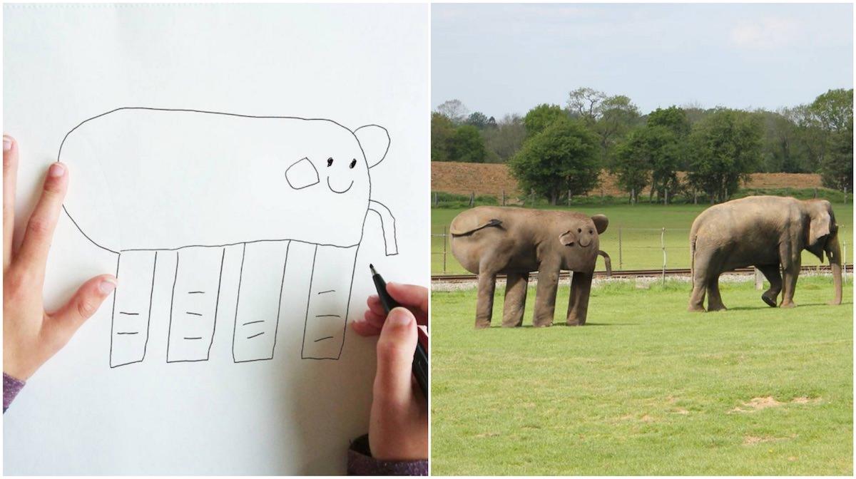 Que bom que os desenhos dos nossos Padawans não são reais