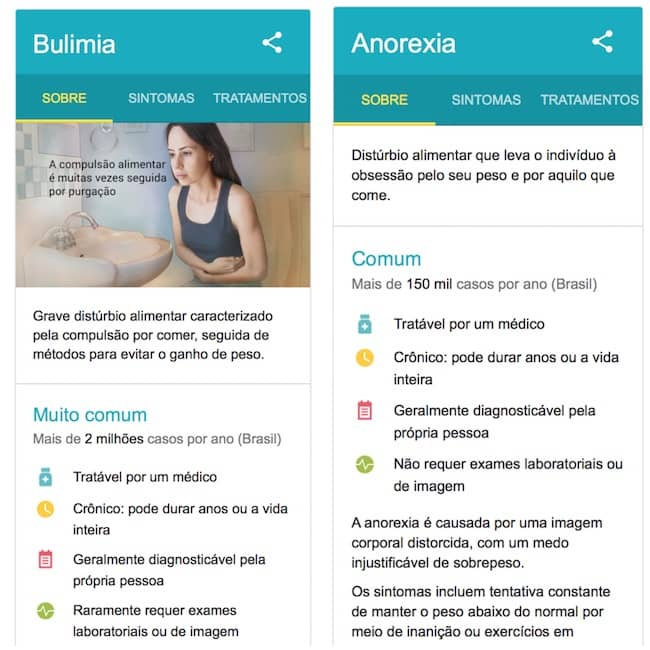 bulemia e anorexia