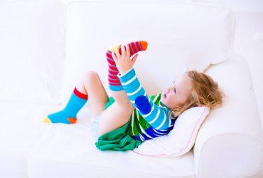 meias perdidas das crianças