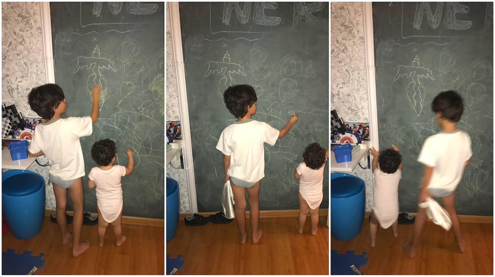 Faça uma parede lousa em sua casa