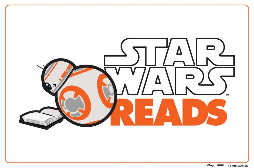 Star Wars Reads 2017 com o BB-8 A