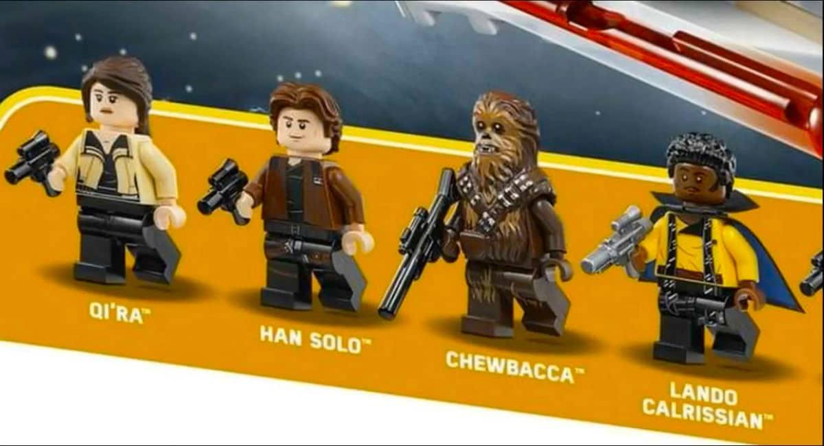 lego Solo Uma História Star Wars
