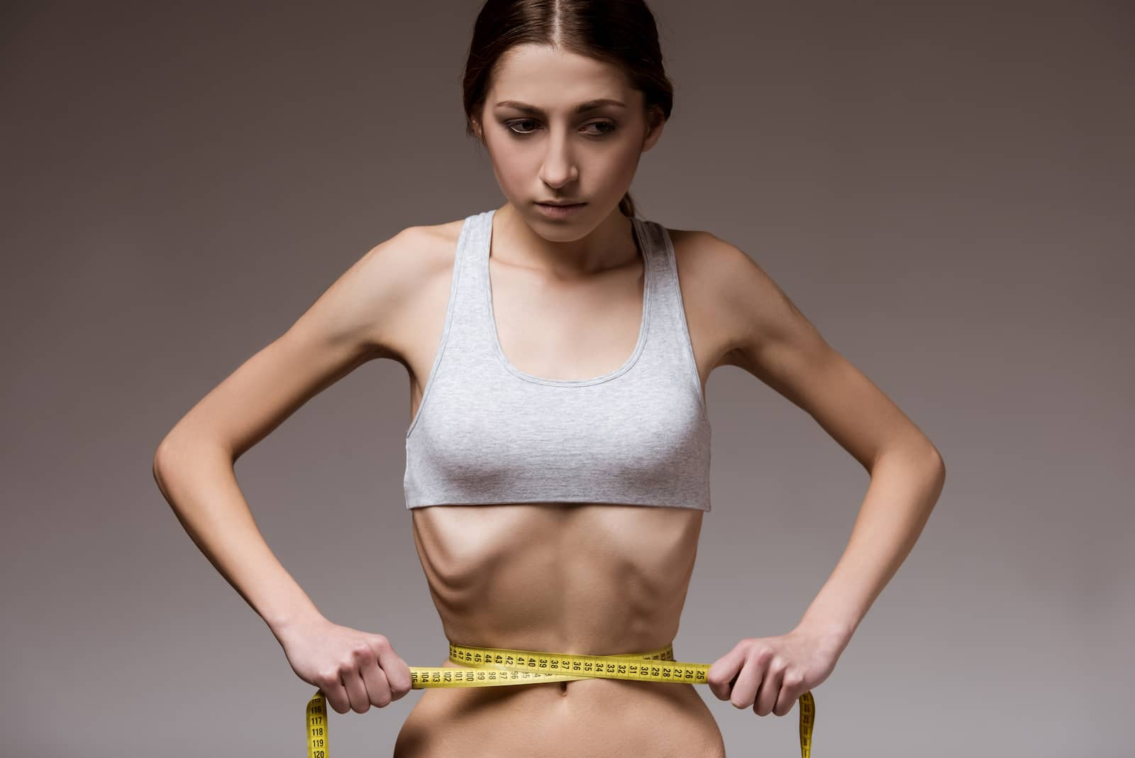 mulher anorexia
