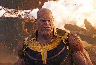 Thanos em Os Vingadores Guerra Infinita