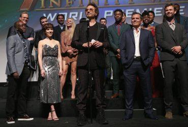 premiere mundial Os Vingadores Guerra Infinita
