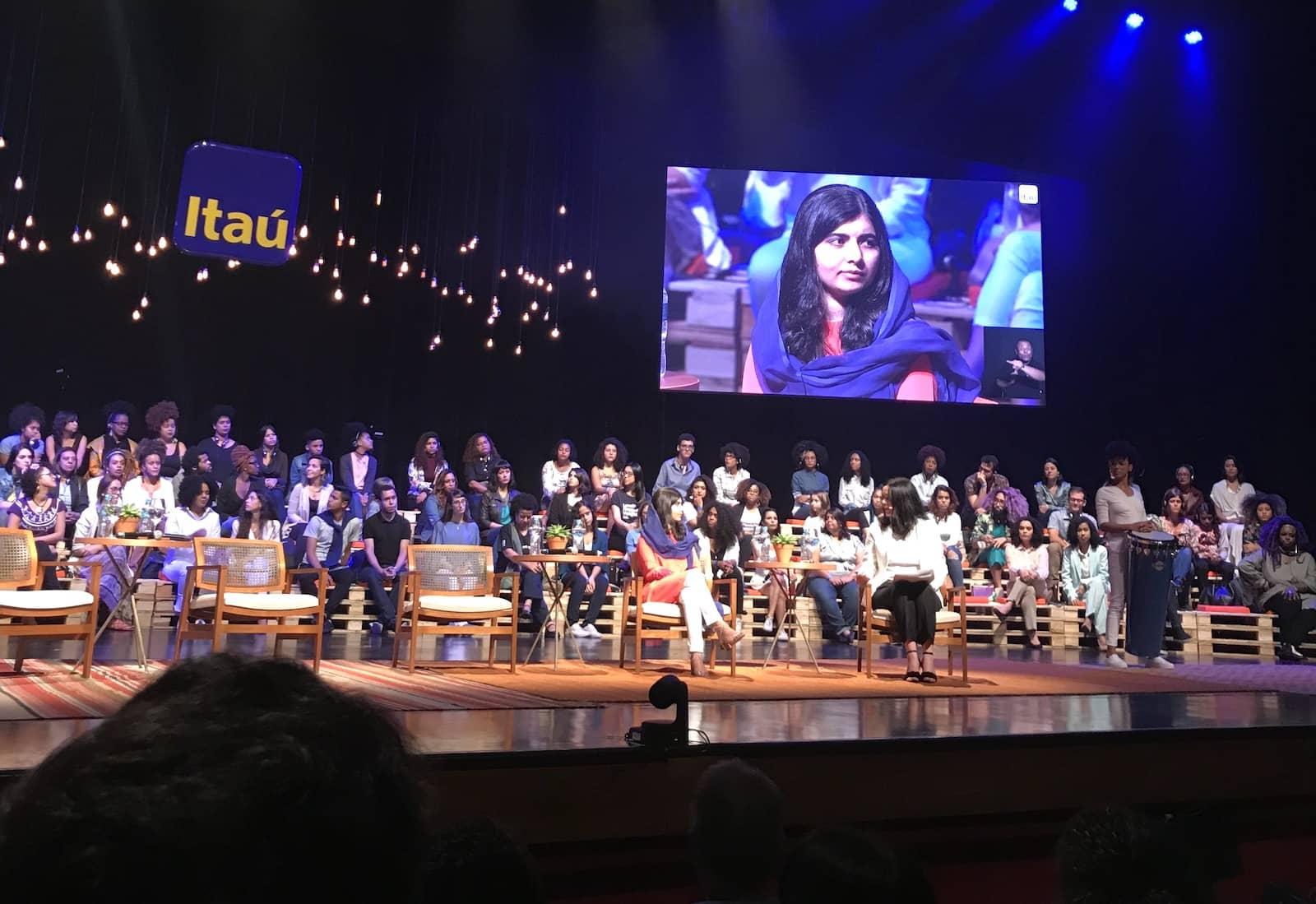 Malala Yousafzai Itau São Paulo