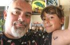 tatuagem do jorge nerd pai
